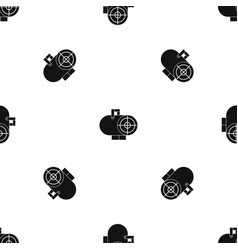industrial fan heater pattern seamless black vector image