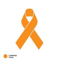Leukemia ribbon vector