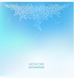 Network abstract background vector