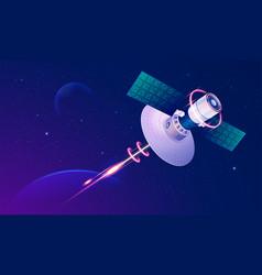 Satellitetech vector