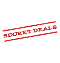 Secret Deals Watermark Stamp vector