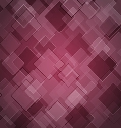 Abstract maroon background with rhombus vector image