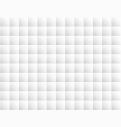 abstract white geometric background square block vector image