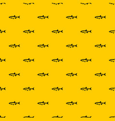 Herring fish pattern vector
