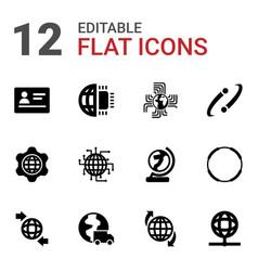 International icons vector