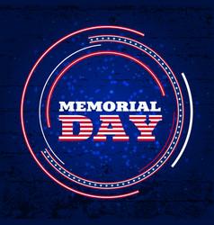 memorial day3 vector image