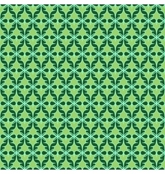 Oval and cross seamless pattern 1806 vector image