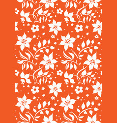 seamless coral color vector image