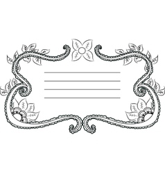 template for text vector image
