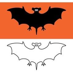 Bat symbols vector