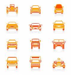 car icons juicy series vector image vector image