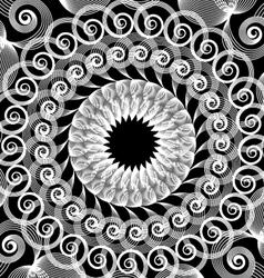 spirograph art design vector image