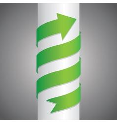 Arrow Pillar vector