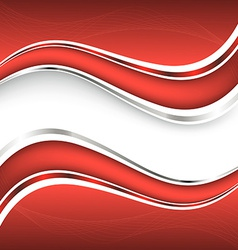 Beautiful red background vector