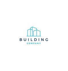 building logo icon download vector image