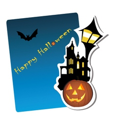 halloween graphic vector image
