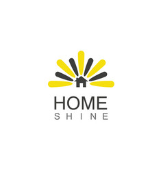 Home shine logo vector