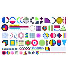 Memphis design element vector
