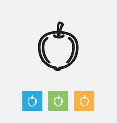 Of kitchenware symbol on plum vector