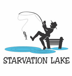 Starvation lake vector