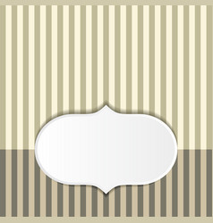 striped pattern background vector image