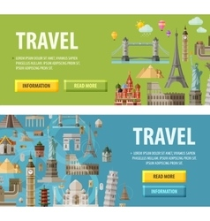 Travel logo design template vacation or vector