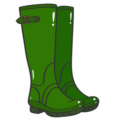 Wellington boots vector