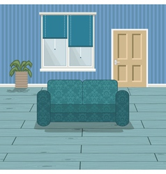 blue room vector image