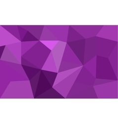 Purple low poly background vector image