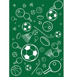 Sport background vector image vector image