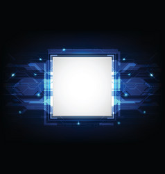 abstract technology background03 vector image
