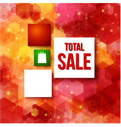 Christmas sale layout with place for Your vector image