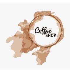 Coffee mug cup shop beverage icon vector