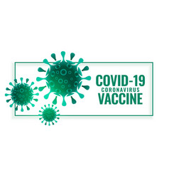 Covid19-19 coronavirus vaccine background vector