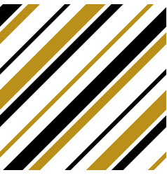 gold black white strip line seamless pattern vector image