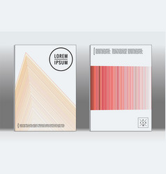 Graphic geometric covers vector