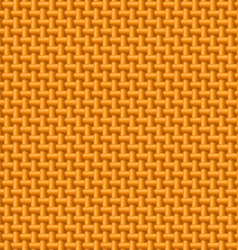 Orange cloth texture vector image vector image