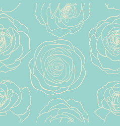 seamless pattern vintage textured with line vector image