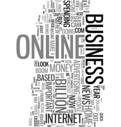 would you like to make money online text word vector image