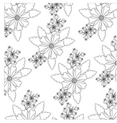 flower floral icon image vector image