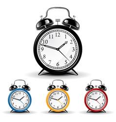 vector alarm clock vector image vector image