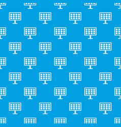 desktop of computer with folders pattern seamless vector image
