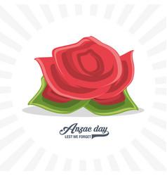 anzac day design vector image