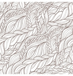 Braid hair pattern vector