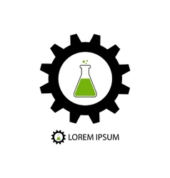 Chemical industry logo vector
