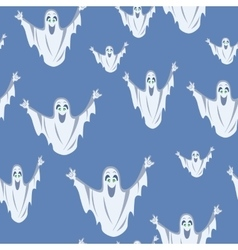 Ghost Seamless Background vector image