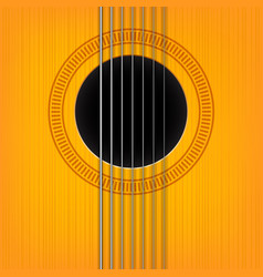 Guitar sound hole background vector