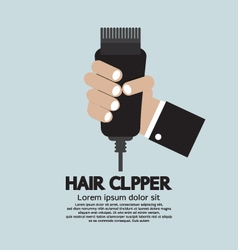 Hair Clipper Tool Of Hairdresser vector