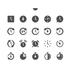 Time v1 ui pixel perfect well-crafted vector