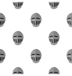 Medieval helmet icon cartoon single weapon icon vector